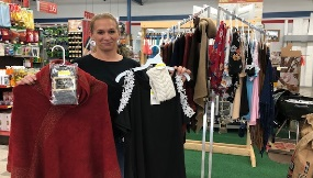 Fall fashions at Bladen Builders Supply