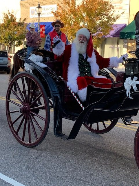 2018 Elizabethtown Christmas Parade  Santa