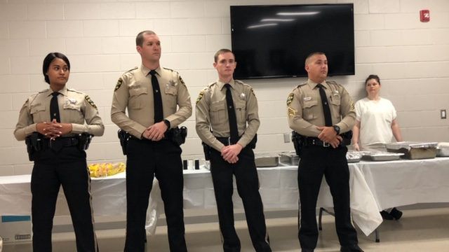 Bladen County Sheriff's Office honors Deputies with Lifesaving Awards
