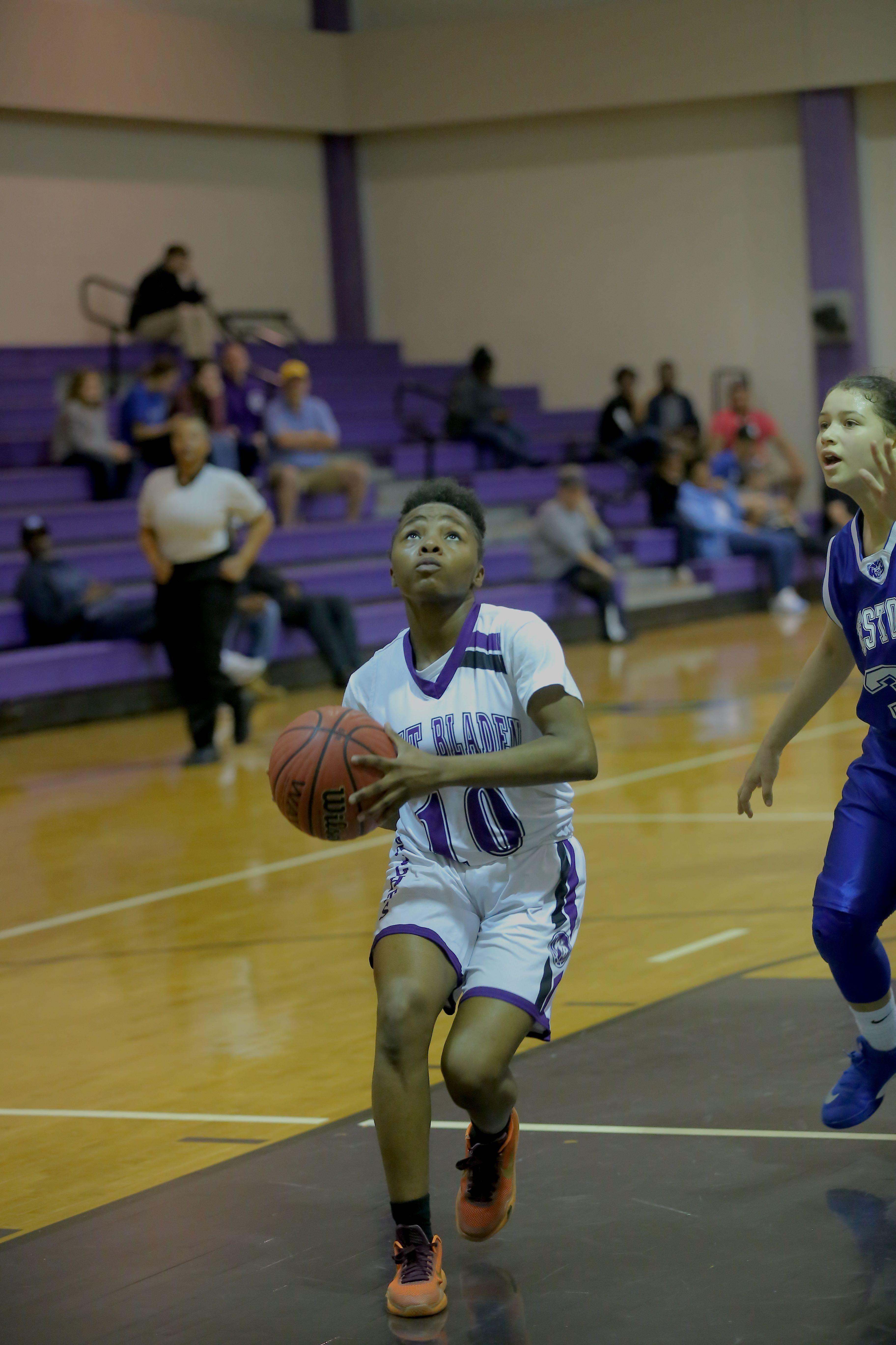 West Bladen 18 Westover jv girls basketball