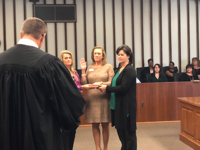 Swearing in 2018 Beverly Parks