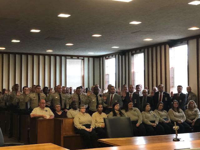 Swearing in 2018 Deputies