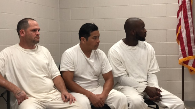 Inmates save officer 1