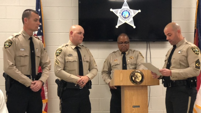 Sheriff Office Promotion Ceremony 2