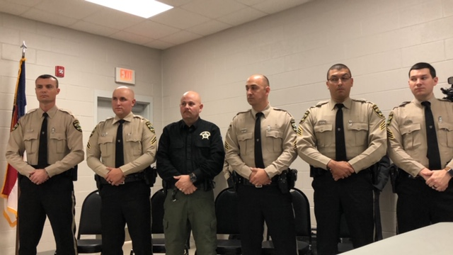 Sheriff Office Promotion Ceremony