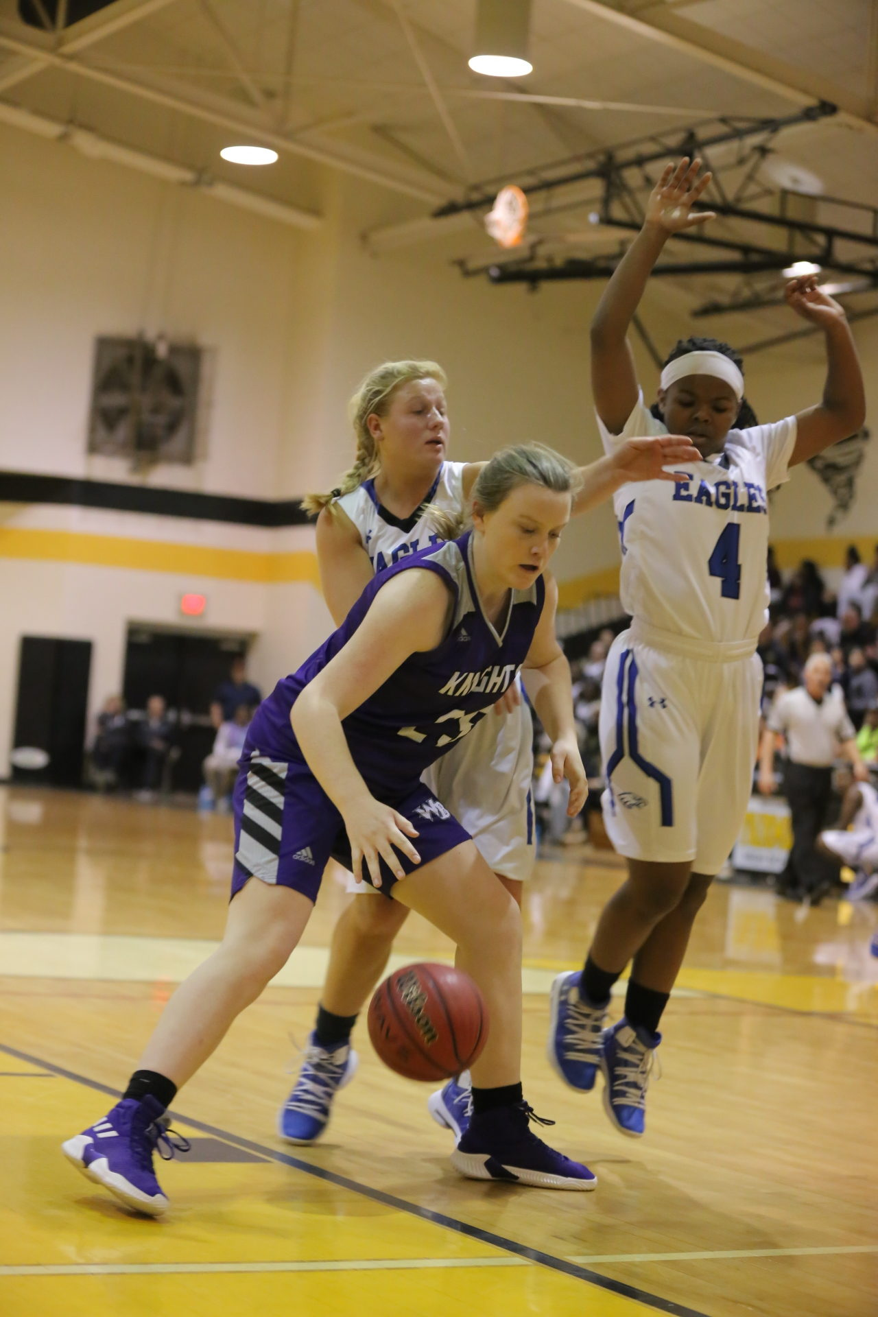 West Bladen vs East Bladen girls playoff basketball 6