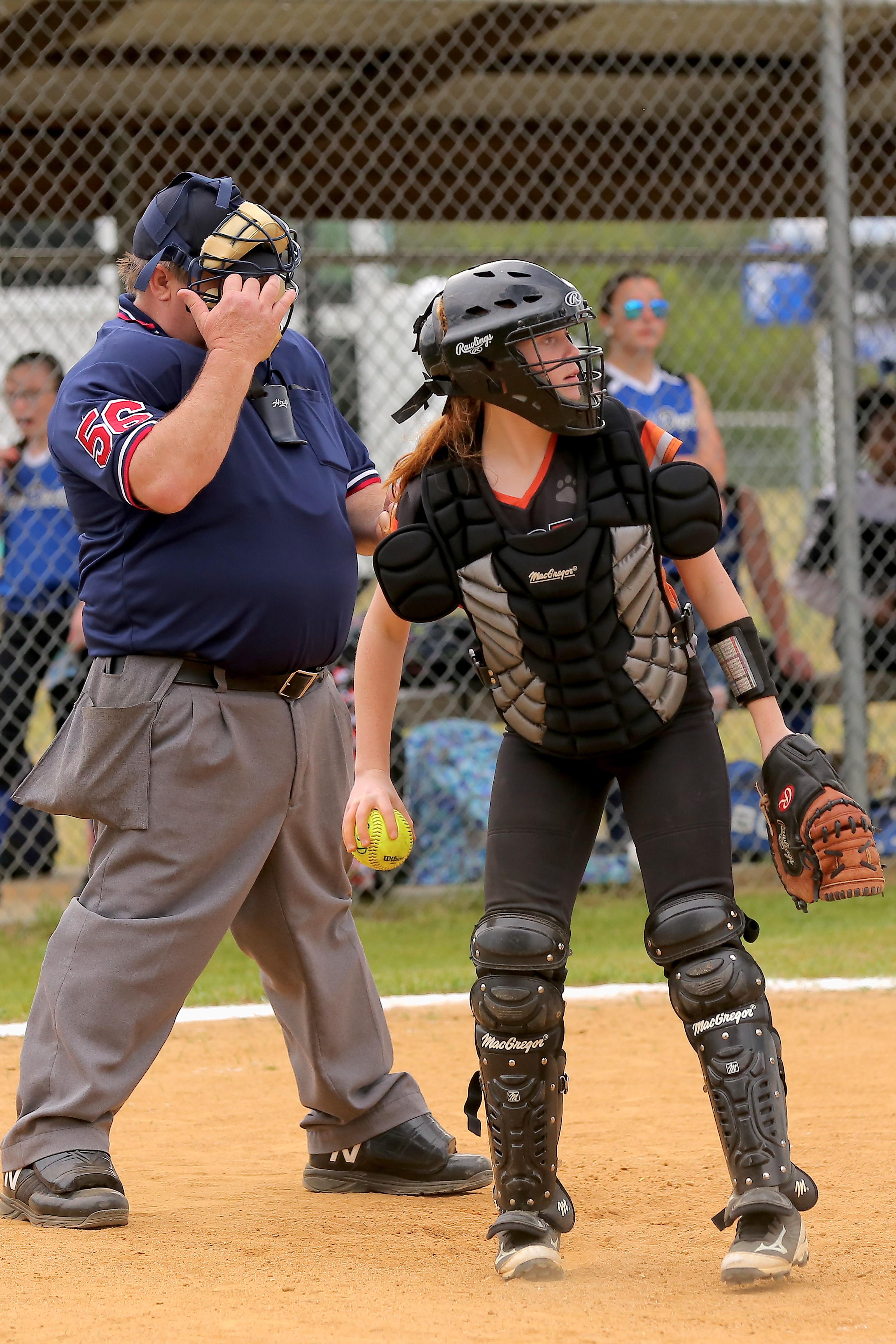 ELizabethtown vs clarkton softball