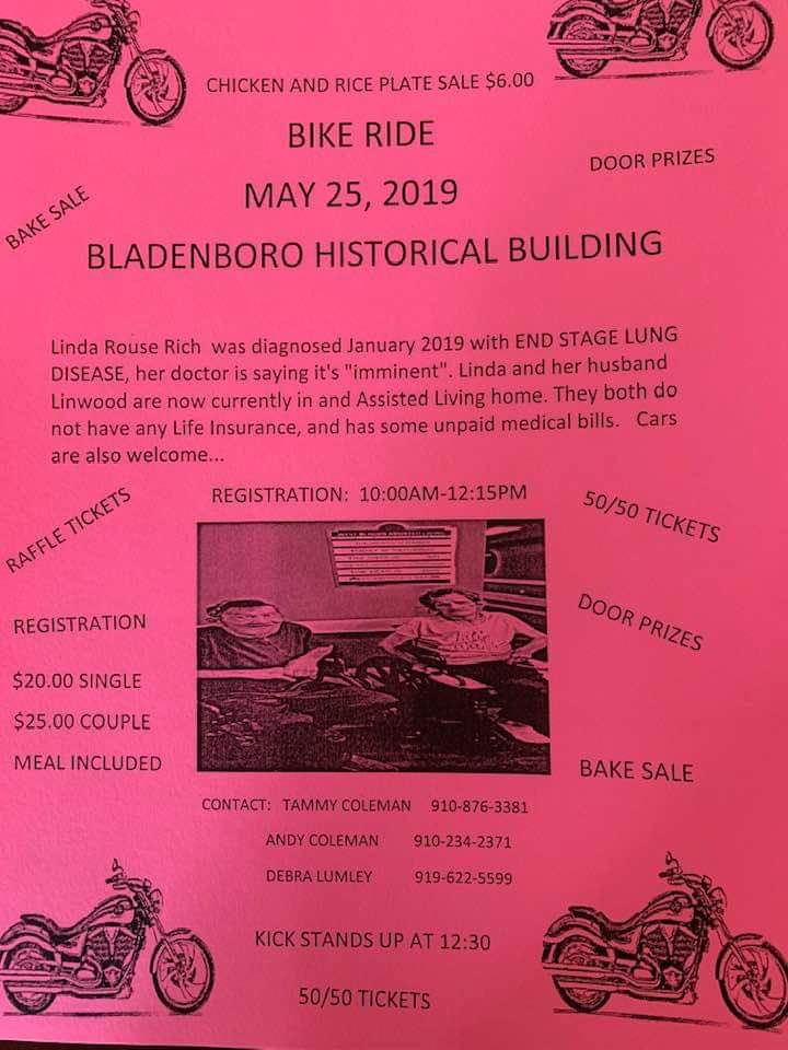 cb6f854150dc Bladenboro cancer patient fundraiser remove May 25
