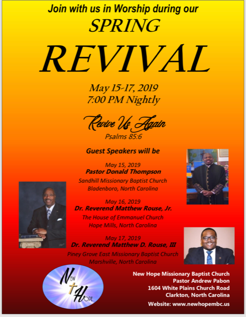Revival in May