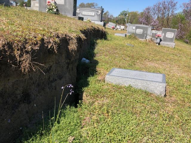 Cemetery Damage 2 4:3:2019