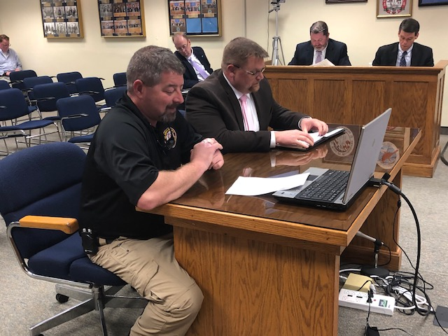 Commissioners Bradley Kinlaw