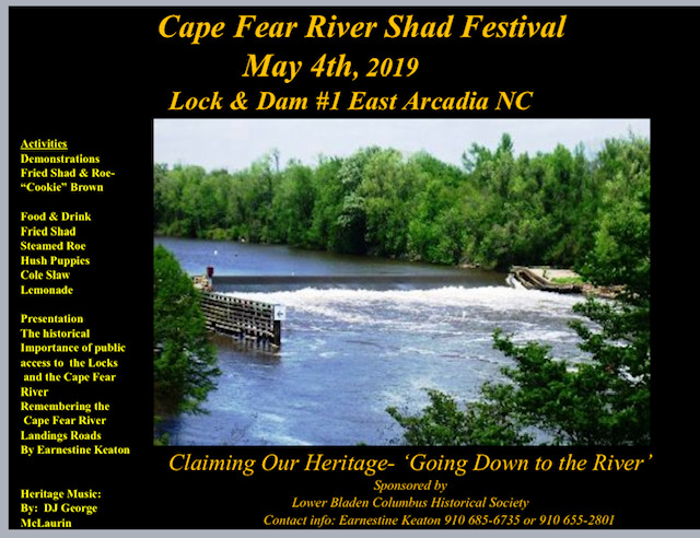 May 4 Cape Fear River Shad Festival