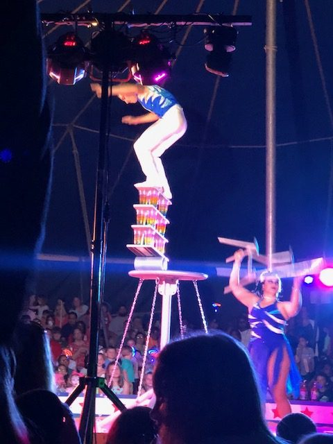 Circus entertains with talent