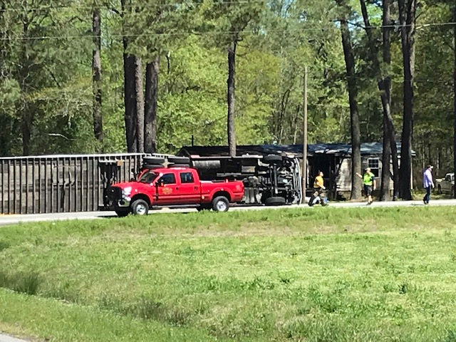 Wreck 131 and NC 41 B