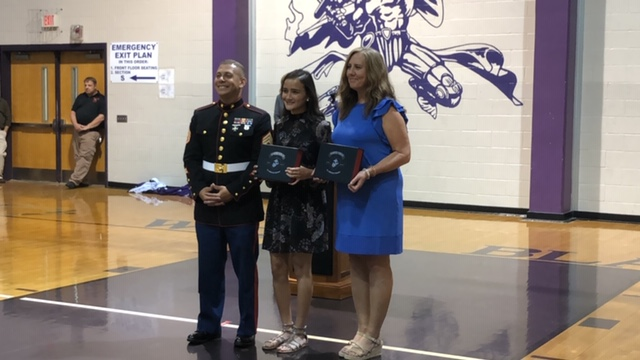 Semper Fidelis All-American Program, Alyssa