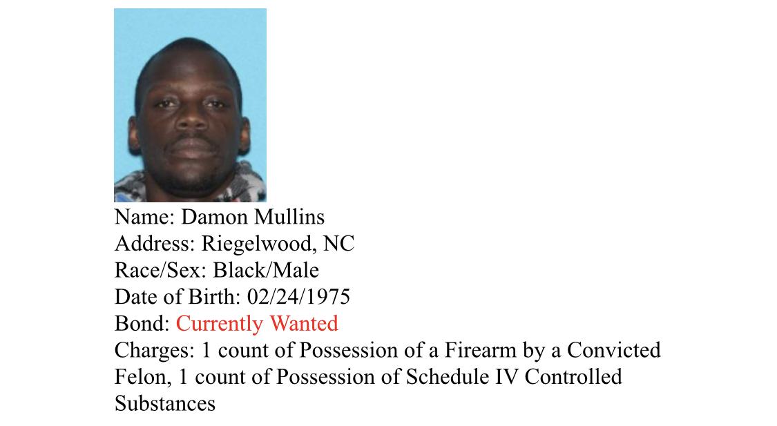 Mullins arrest
