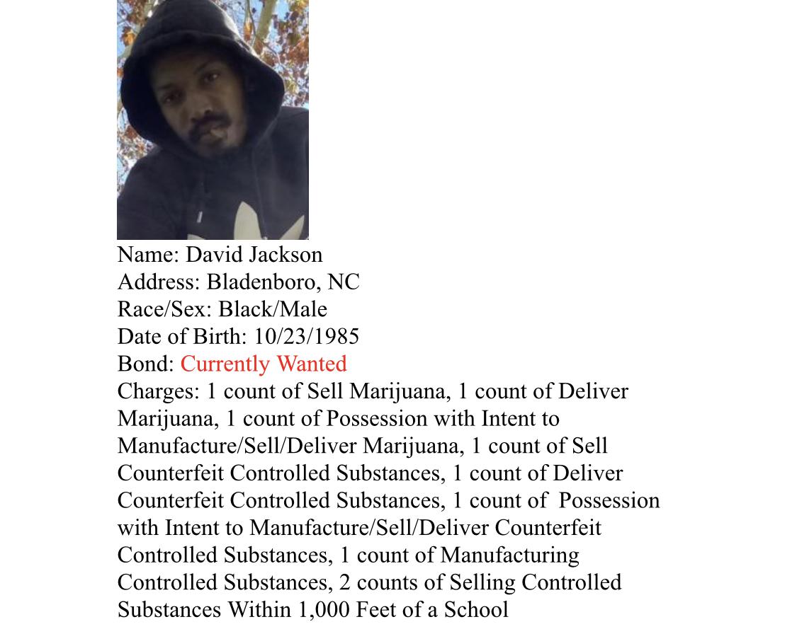 Jackson arrest