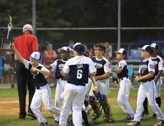 DYB District 9 AAA (Minors) Tournament: Elizabethtown Wins