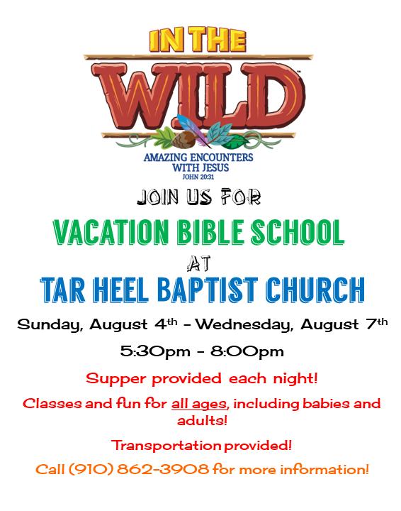 Tar Heel Baptist Church VBS