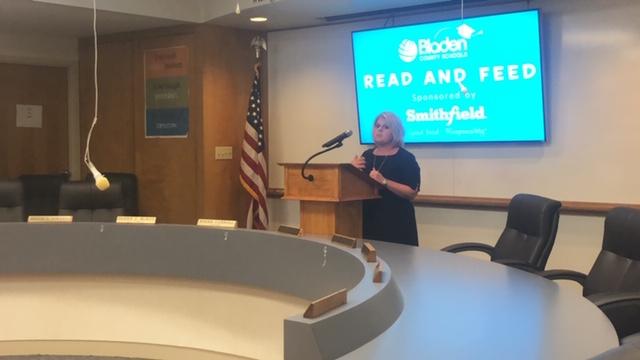 Amy Stanley Bladen County Schools