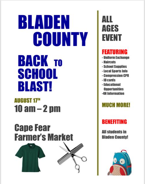 Bladen County School take back uniform
