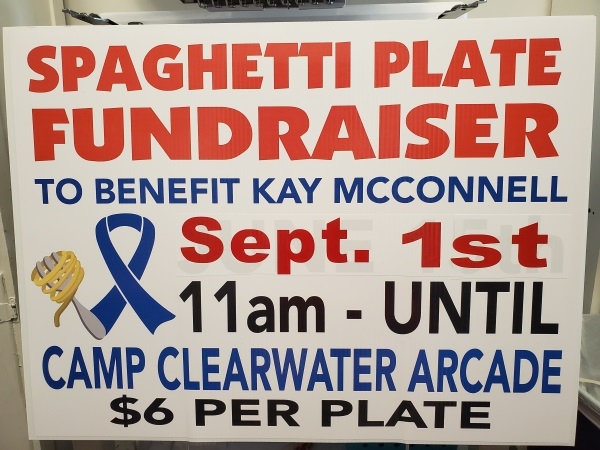 Camp Clear Water fundraiser