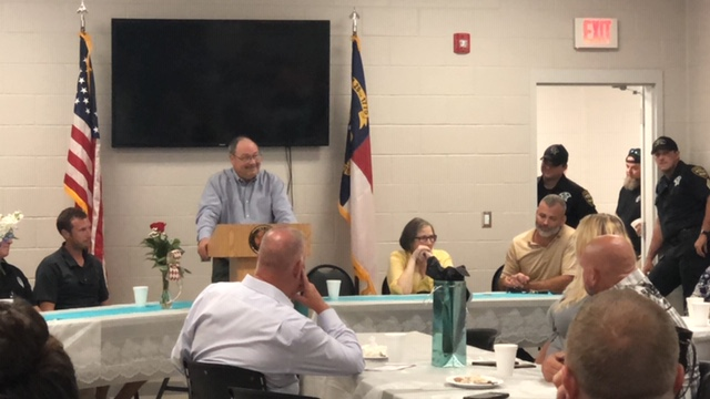Bladen County Sheriff Major Larry Guyton of Bladen County retires 4