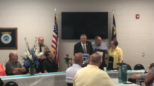 Bladen County Sheriff Major Larry Guyton of Bladen County retires Brisson