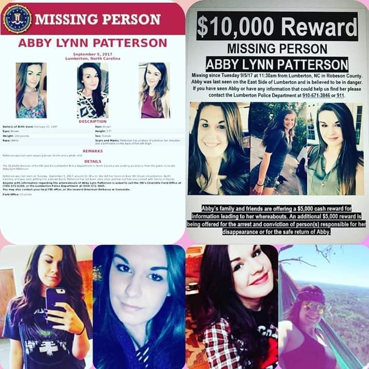 Find Abby missing person 2