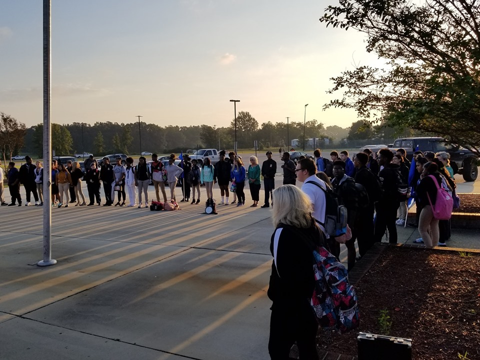 See you at the Pole East Bladen High School 3