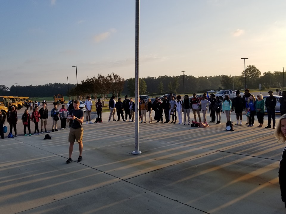 See you at the Pole East Bladen High School 5