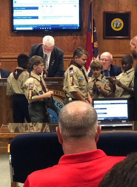 Cub Scouts 600 lead pledge
