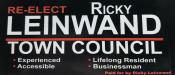 ReElect Ricky Leinwand