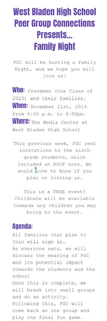 West Bladen Peer Group Connections