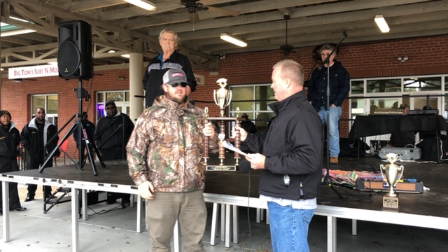 2019 Pork and Beats Festival 1 place winner Kevin Peterson