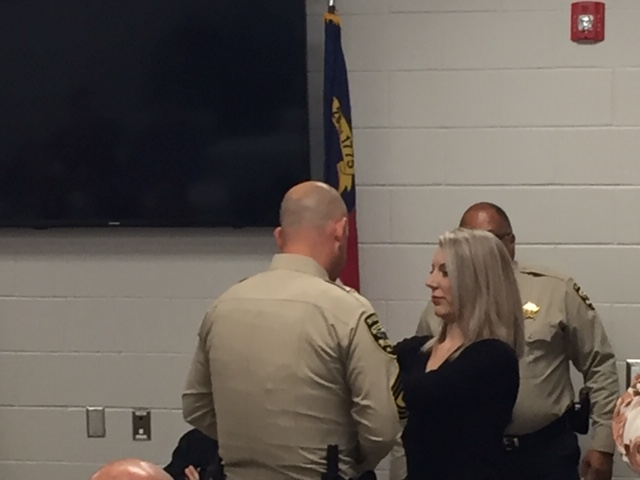 November 2019 Bladen County Sheriffs Office Promotional Ceremony