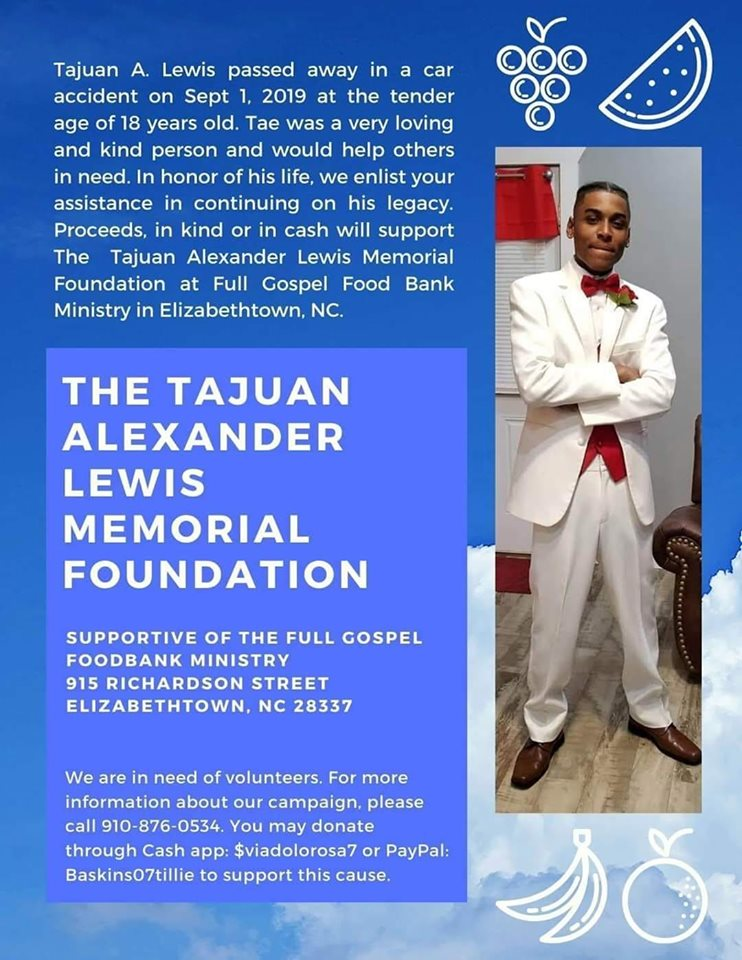 Tajuan Alexander Lewis Memorial Foundation