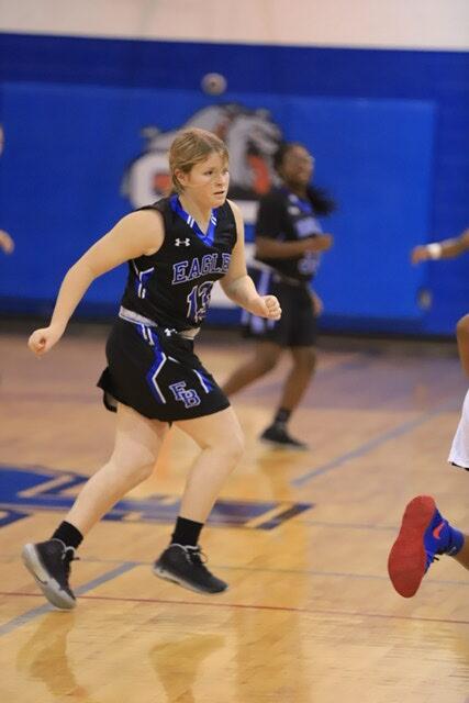 East Bladen vs St pauls girls basketball