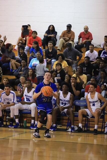 East Bladen vs st Pauls boys basketball