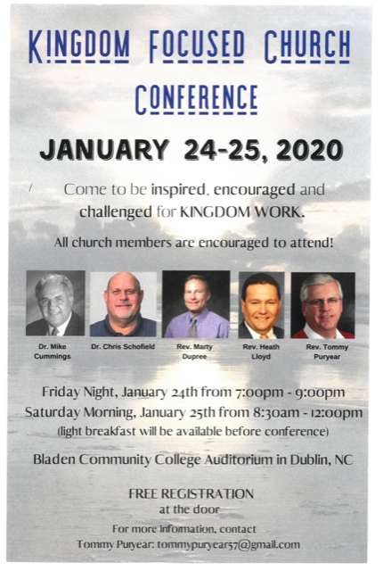 Church Conference January 24-25, 2020