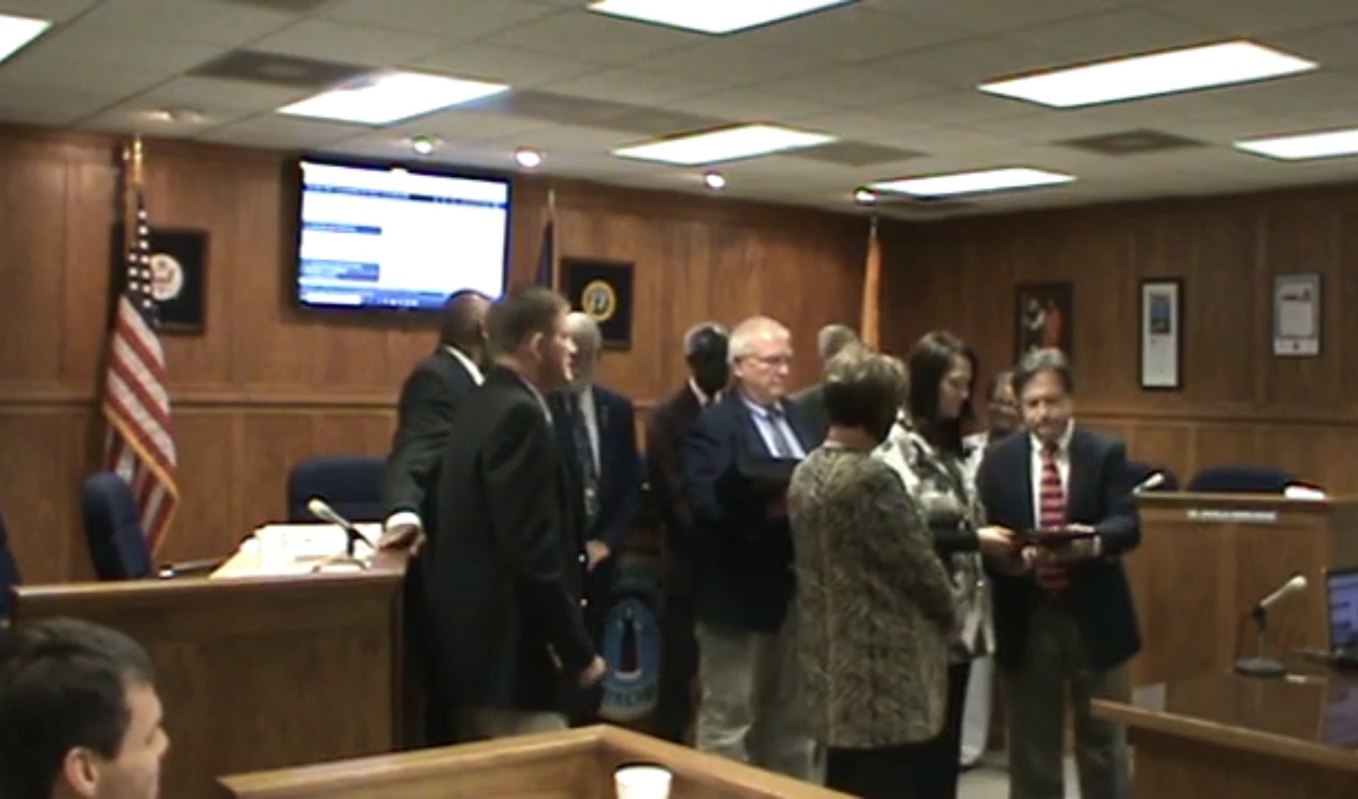 January BC Commissioners meeting
