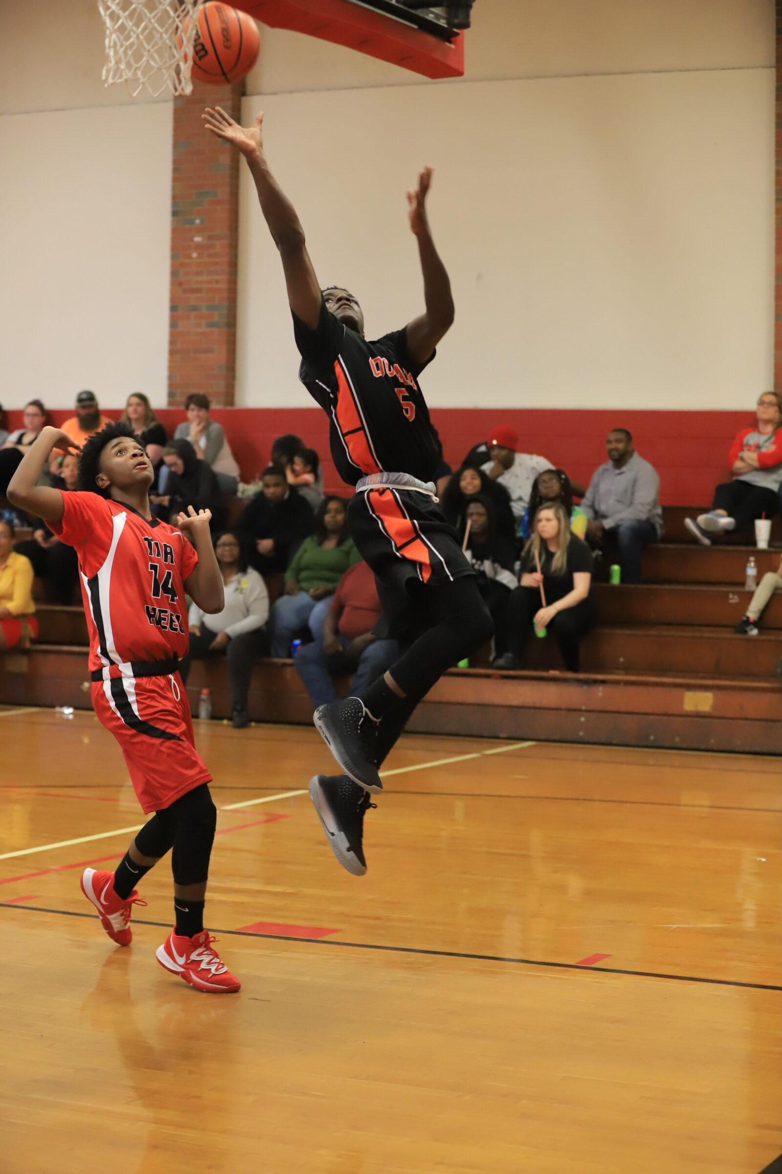 ETM vs tarheel boys basketball