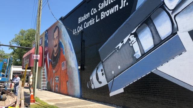 Curtis Brow Mural