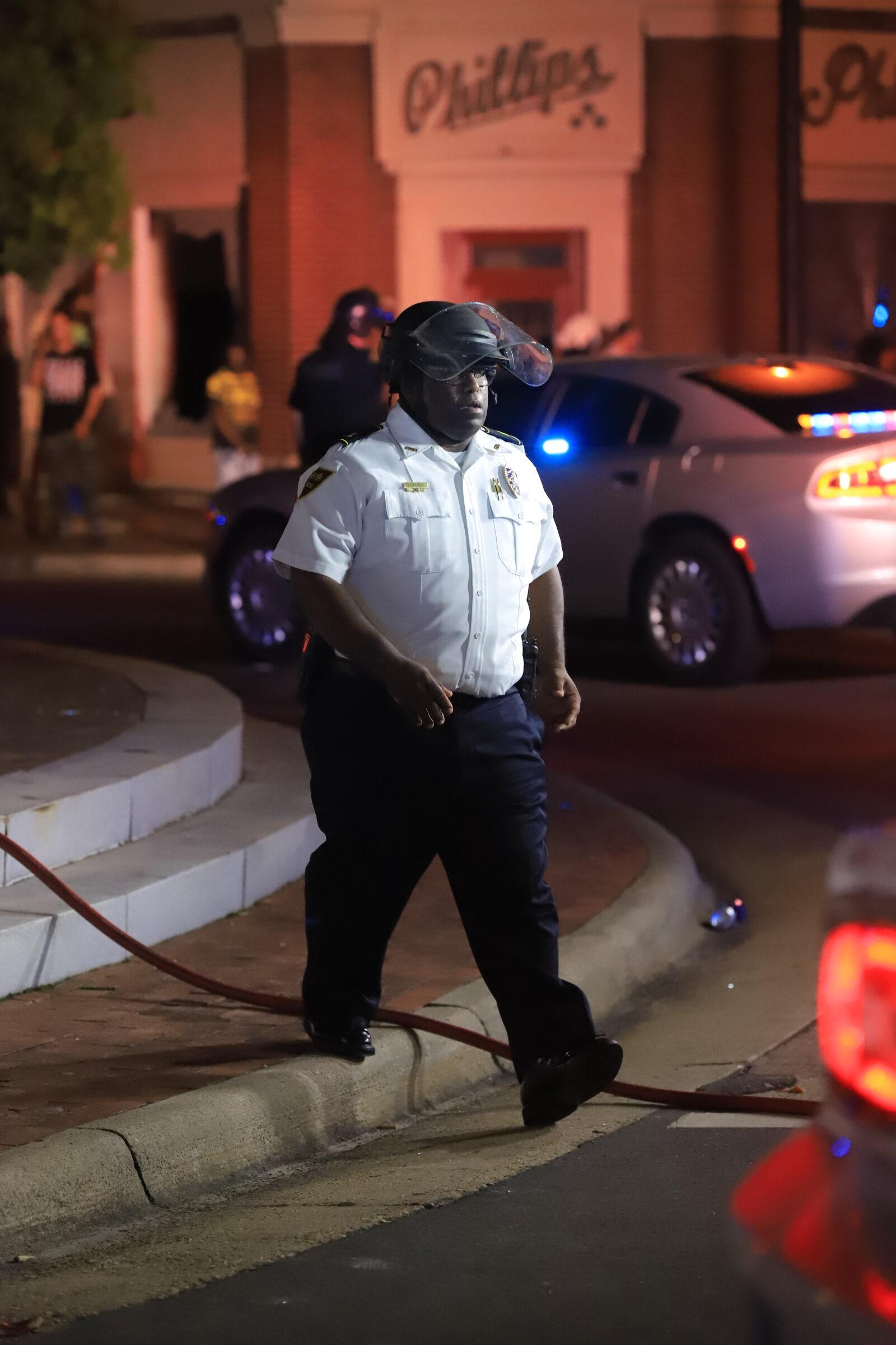 Riot in Fayetteville