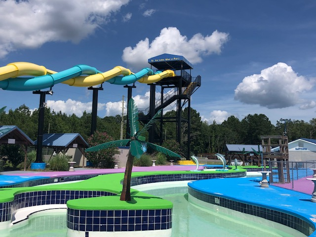 White Lake Water Park during COVID-19