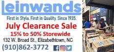 Leinwands July Clearance Sale