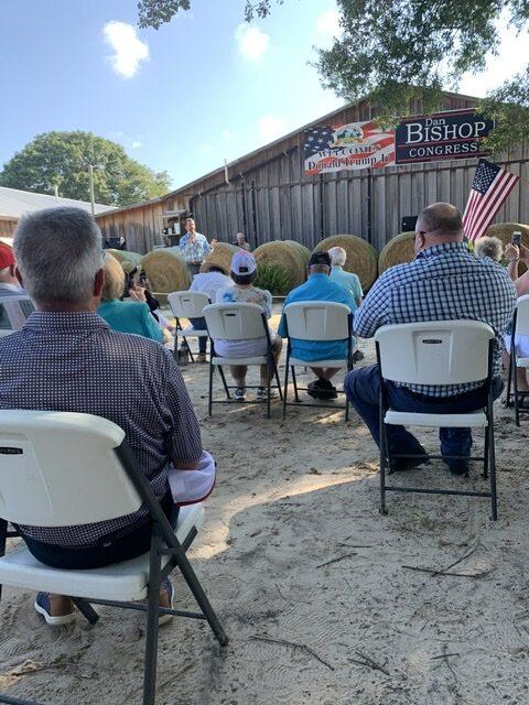 Bladen County Republican Party Hosted Donald Trump Jr. and U.S. House Representative Dan Bishop