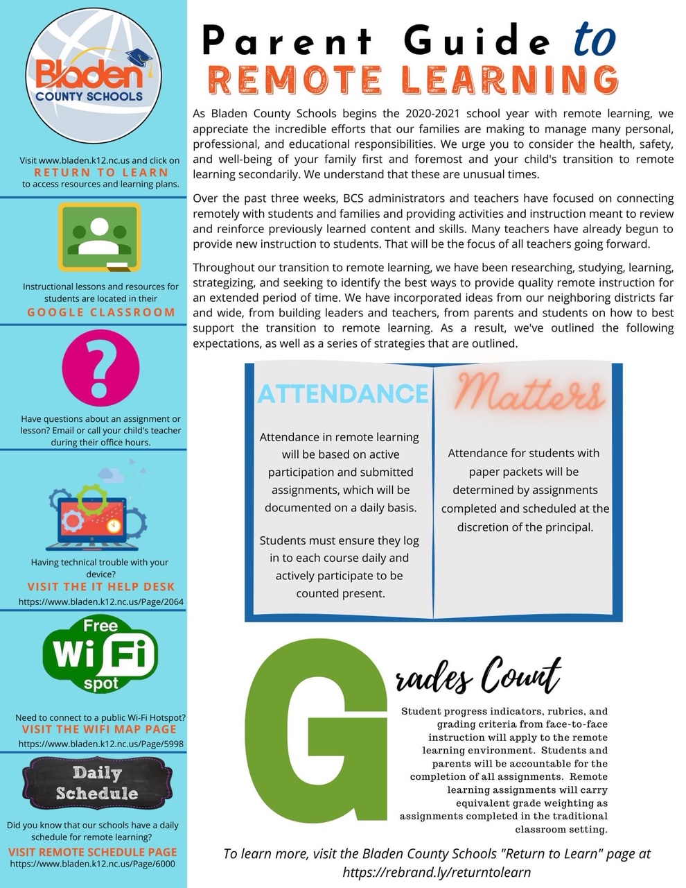 parent guide remote learning