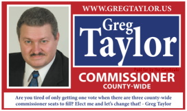 Business Card ad 1 for Greg Taylor