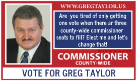 Business Card ad 2 for Greg Taylor